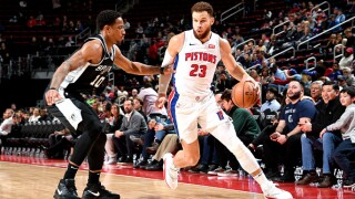 Pistons' Casey says he'll be cognizant of Griffin's workload