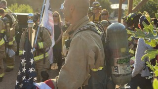"""""""This is for them:"""" Sixth annual Firefighter Incline Climb commemorates 20 years since 9/11"""
