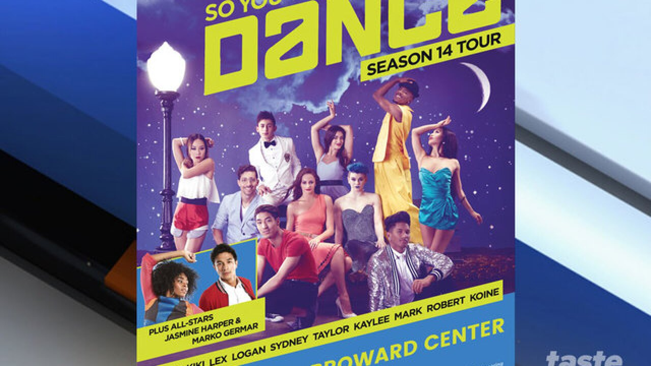 'So You Think You Can Dance' tour coming to Fort Lauderdale