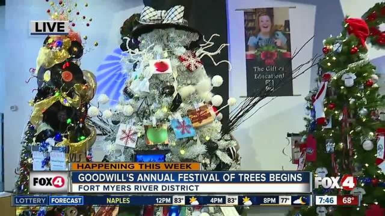 Goodwill's 11th annual Festival of Trees begins