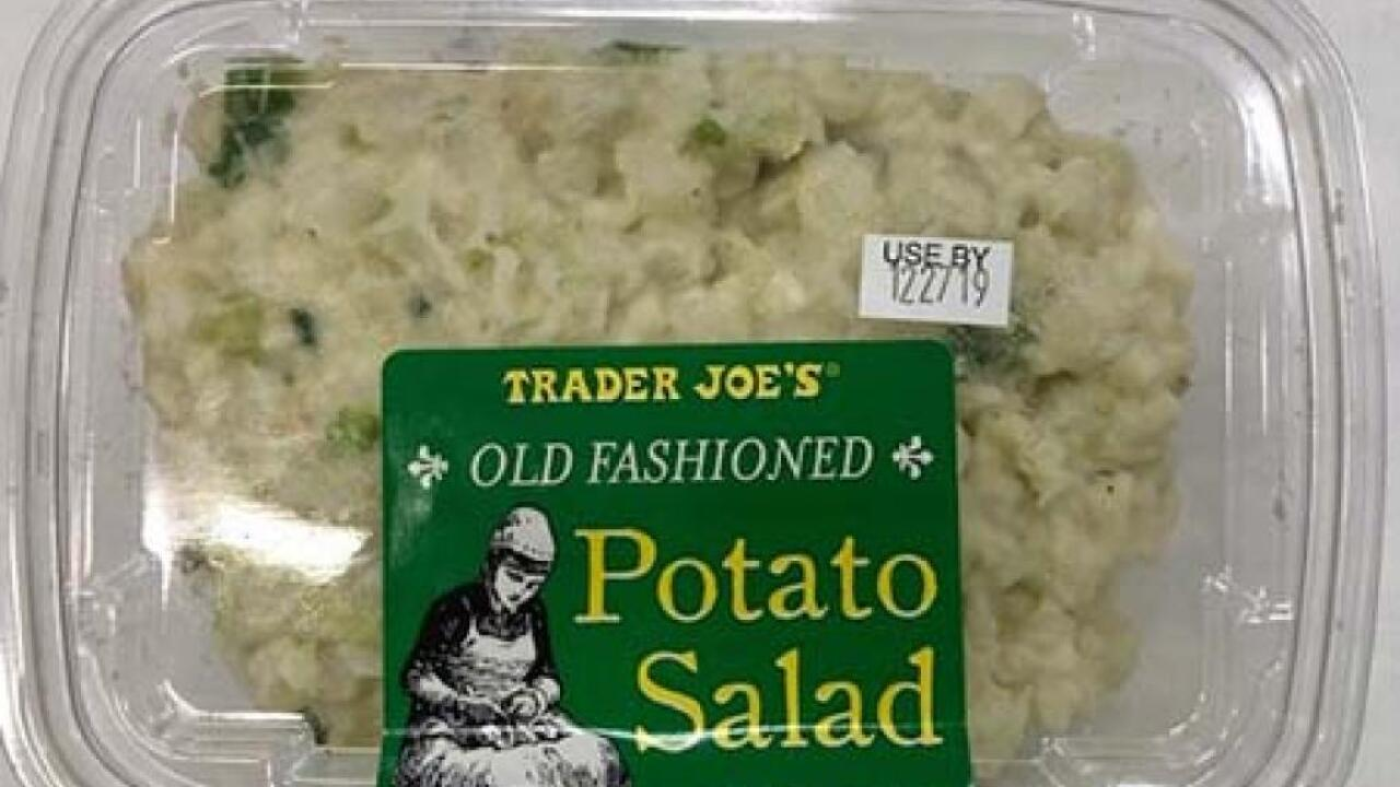Trader Joe's egg, potato salad recalled due to Listeria concerns