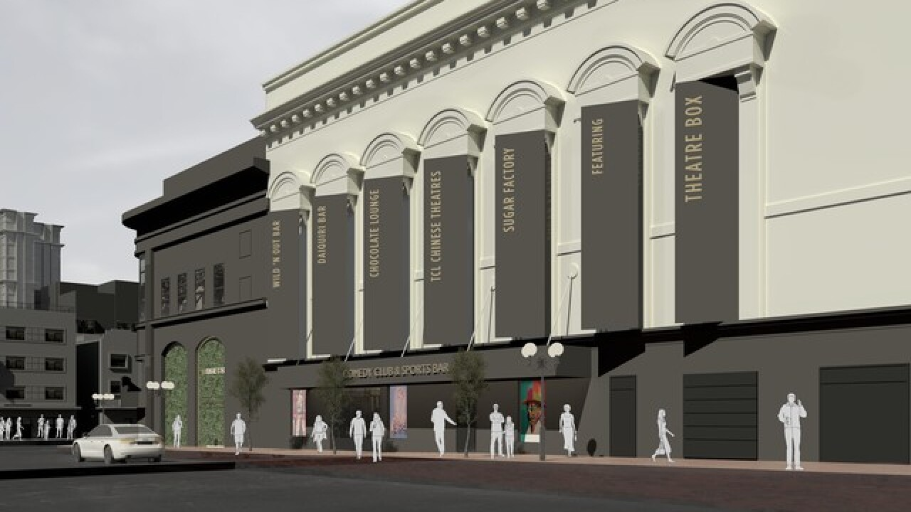 TCL's Chinese Theater coming to Gaslamp Quarter