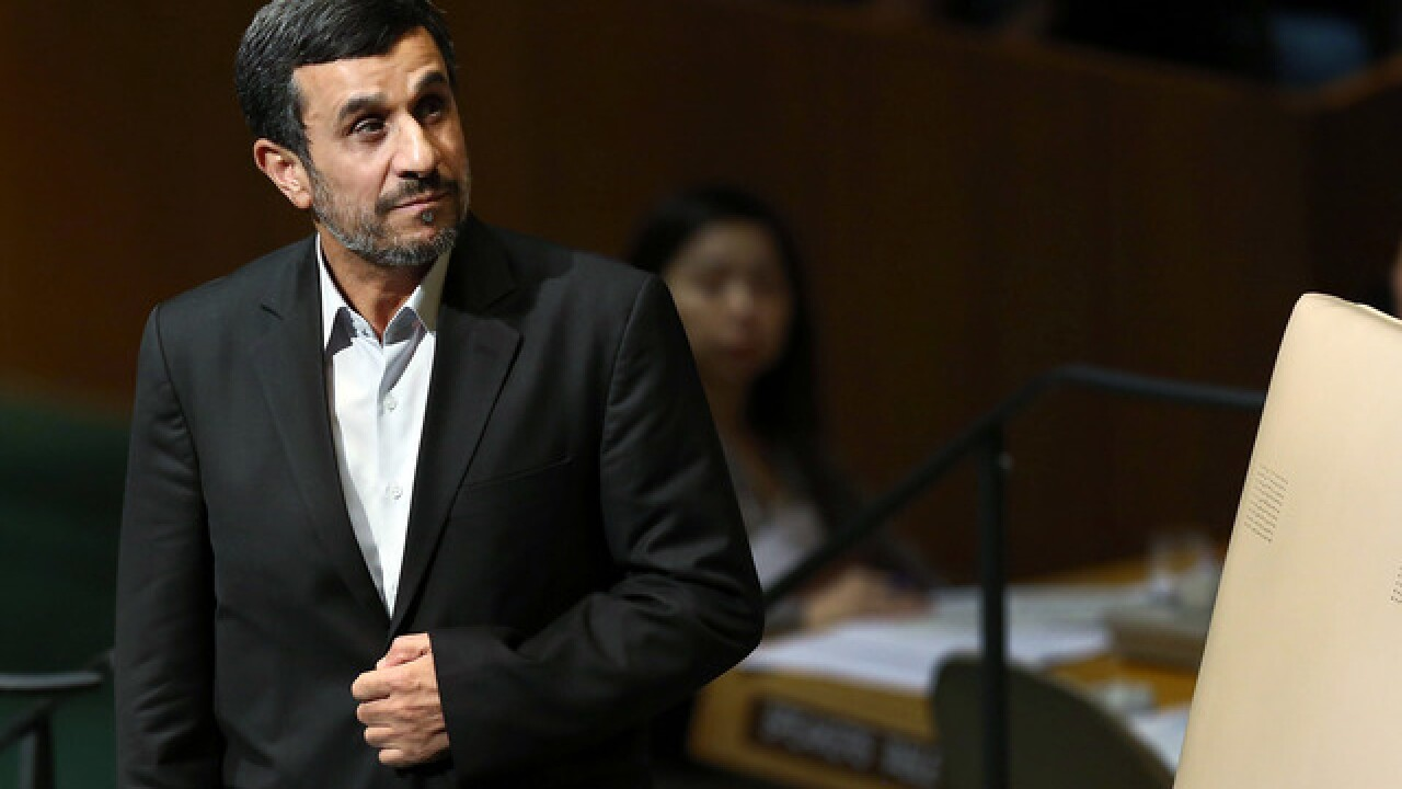 Fmr. Iranian president Mahmoud Ahmadinejad tweets support for Michigan football