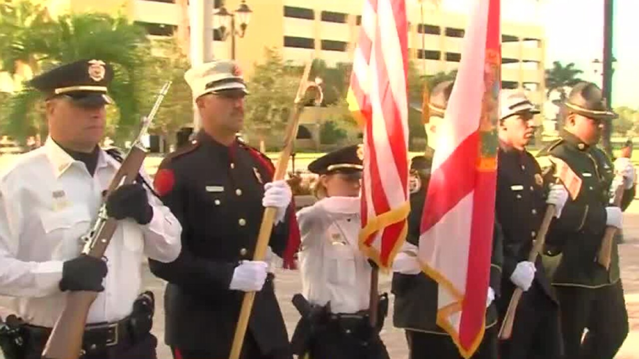 9/11 memorial ceremony held in Port St. Lucie on Sept. 11, 2019.