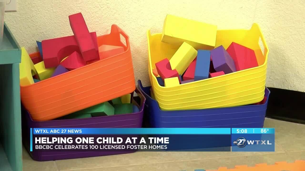 Big Bend Community Based Care celebrates 100 licensed foster homes