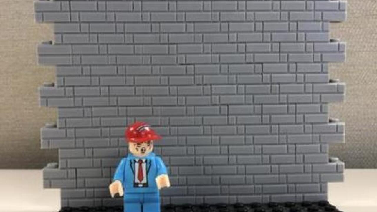 'MAGA' blocks set encourages kids to build wall