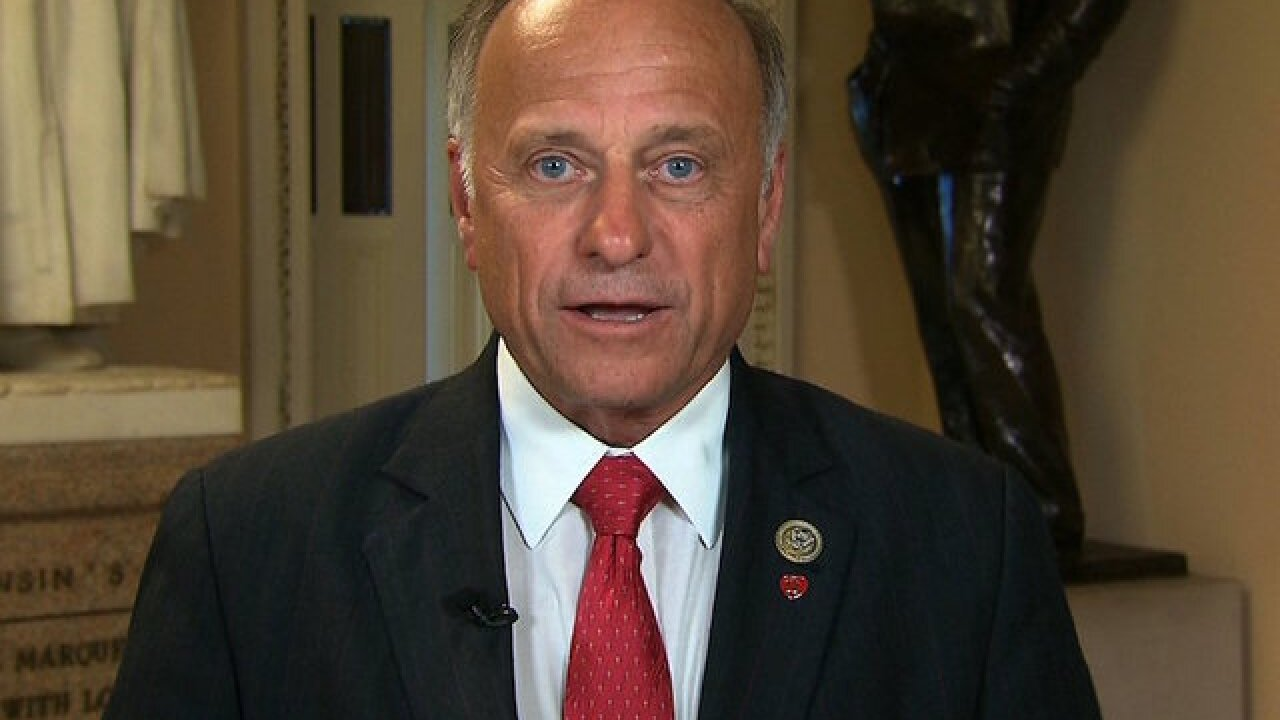 GOP Rep. Steve King stands by Obama comment on Scalise shooting