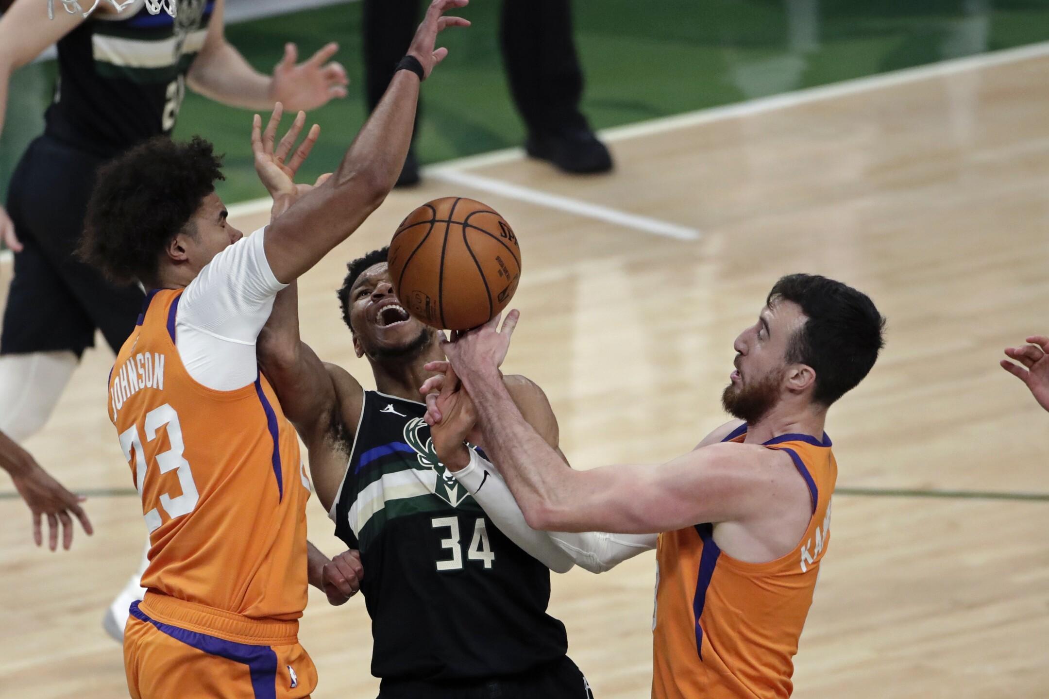 NBA Finals Suns Bucks Basketball