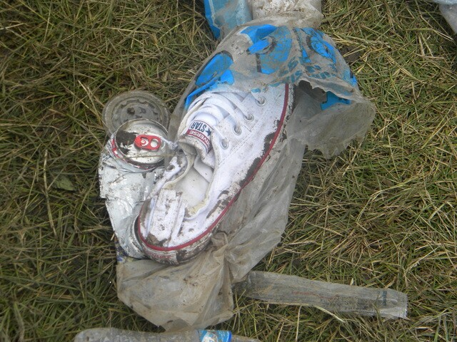 INDY 500 PICS: These shoes lost their lives in the Indy 500 Snakepit