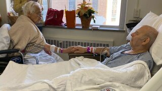 Corinne and Robert Johnson were married for 68 years before dying just a day apart.