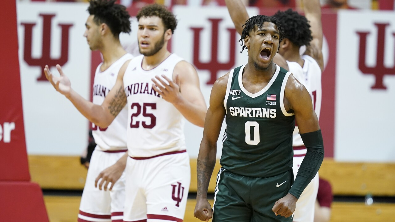 Michigan St Indiana Basketball