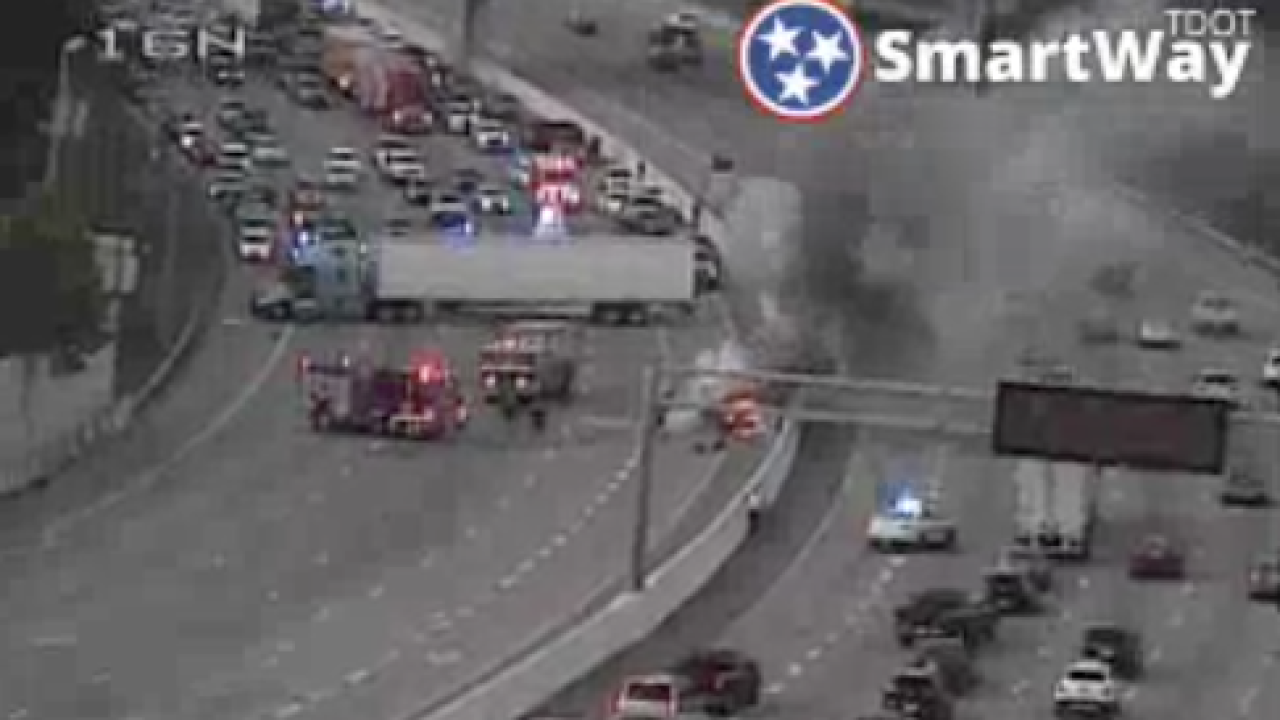 Police seek to ID one who died in fiery I-65 crash