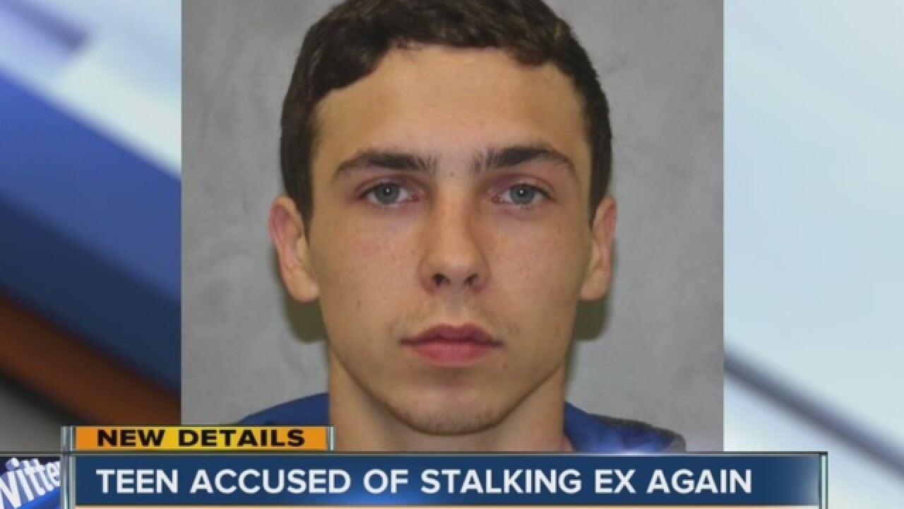 Teen accused of stalking ex a second time