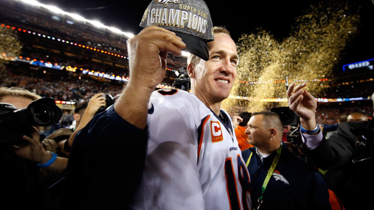 PHOTOS: Peyton Manning celebrates Super Bowl win