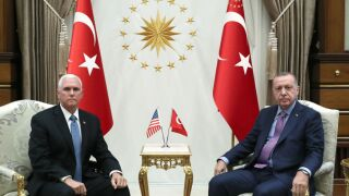 VP Pence And US Officials Visit Ankara To Discuss Syrian Conflict