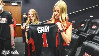 Kristi Gray UL Athletics