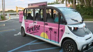 West Palm Beach electric shuttle