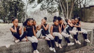 The photo shoot began as a way to bond outside of dance class, but quickly became more meaningful, says dance mom, Angela Malonson.