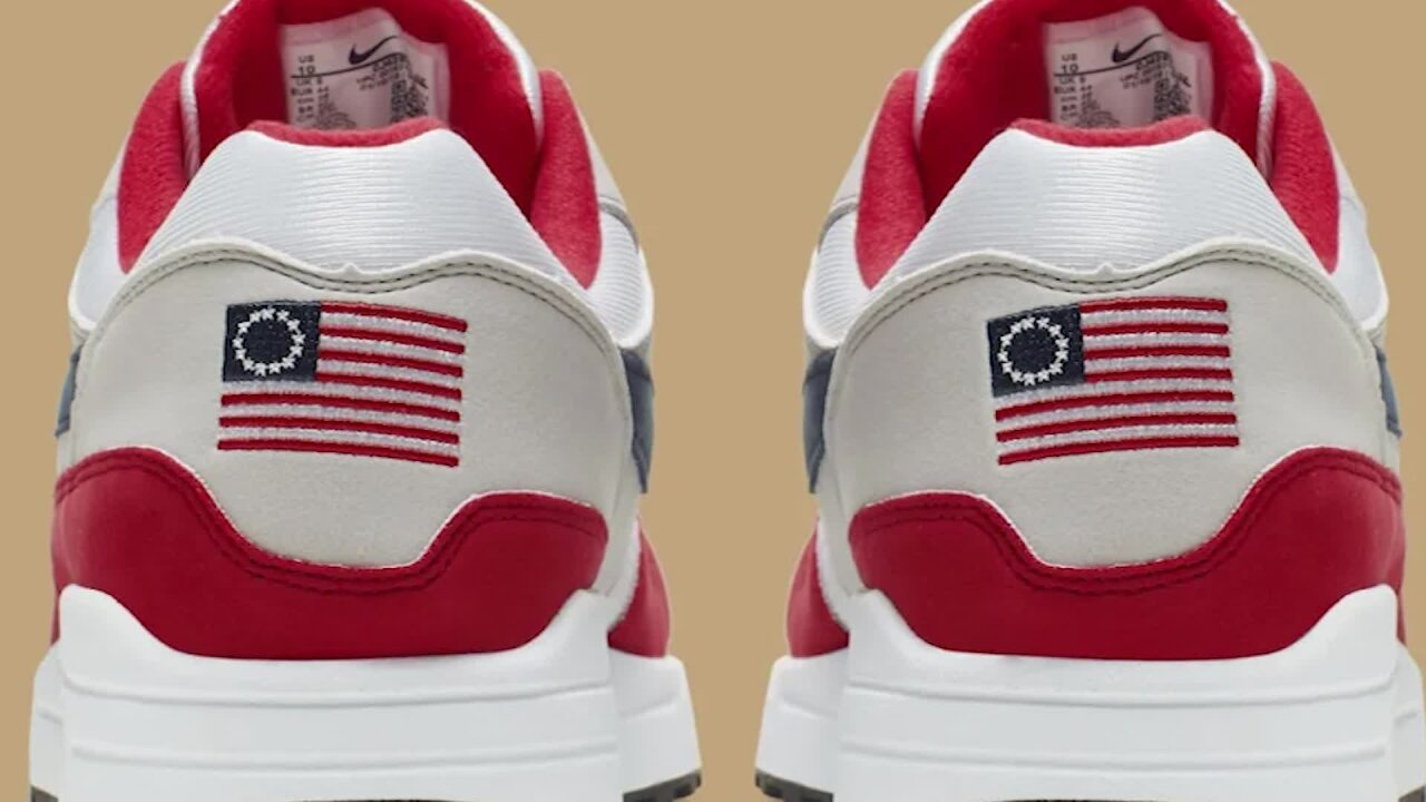 Nike cancels shoe featuring early version of American flag