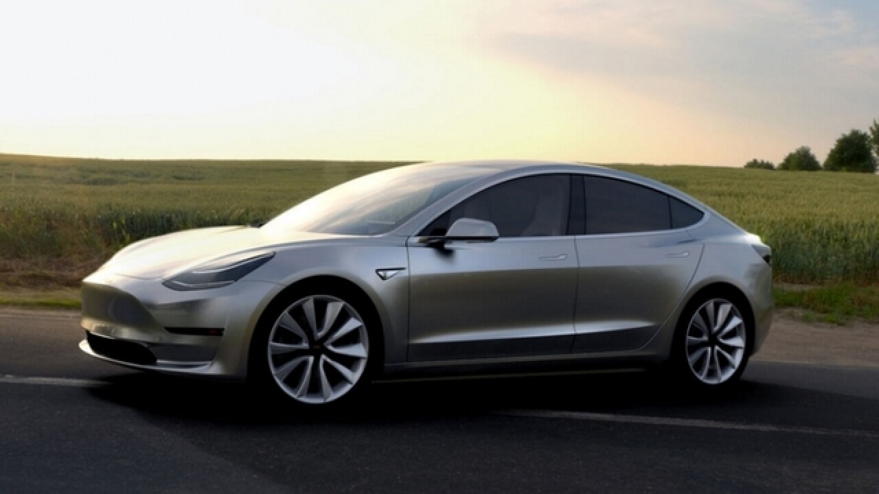 What you need to pre-order a Tesla Model 3