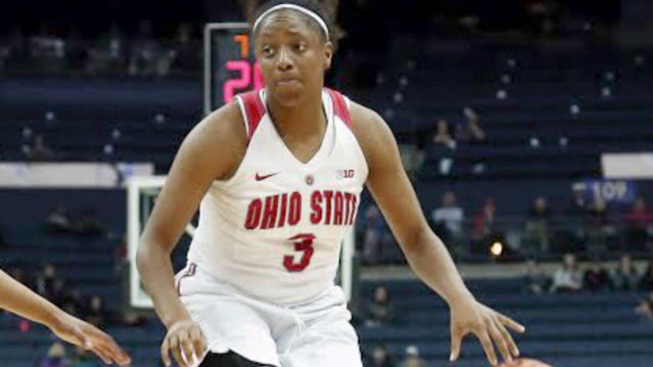 Ohio State's Kelsey Mitchell grateful for the opportunity to be at the WNBA Draft Thursday night