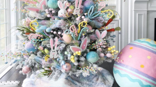 Brighten Your Home With An Easter 'Christmas Tree'