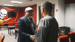 Bruce Arians at One Buc Place