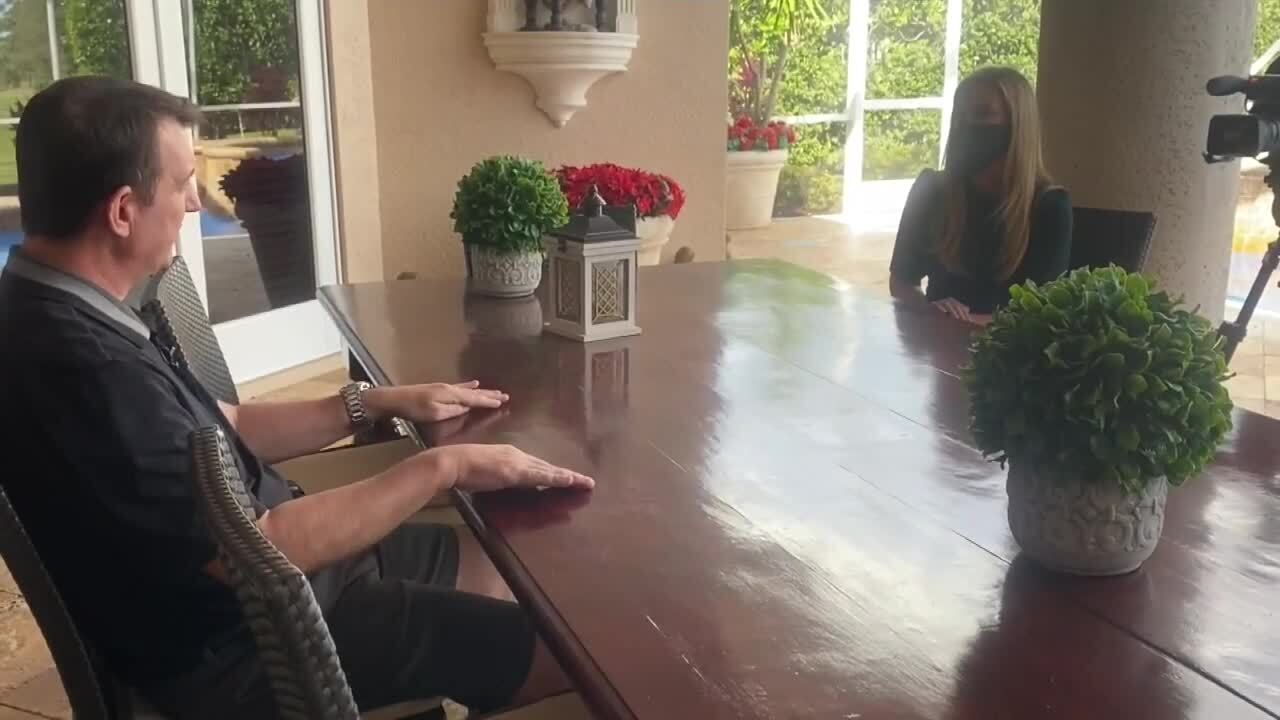 Tony Mariotto speaks to Meghan McRoberts