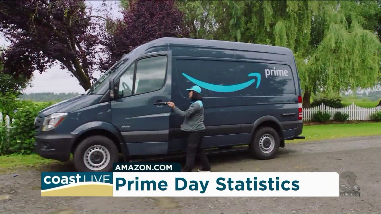 Statistics on Amazon's 2019 Prime Day and its impact on small businesses on CoastLive