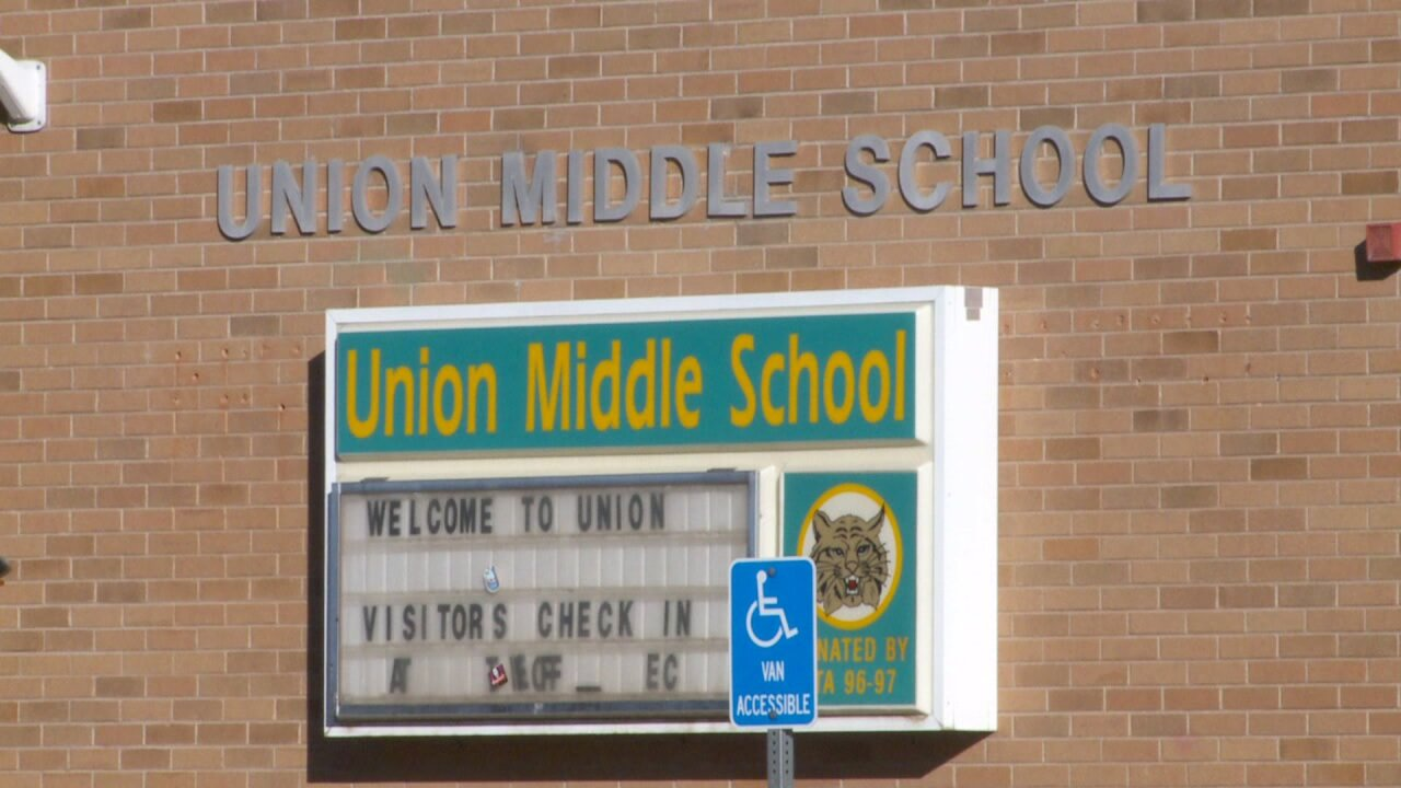 Union Middle School classes to resume Tuesday