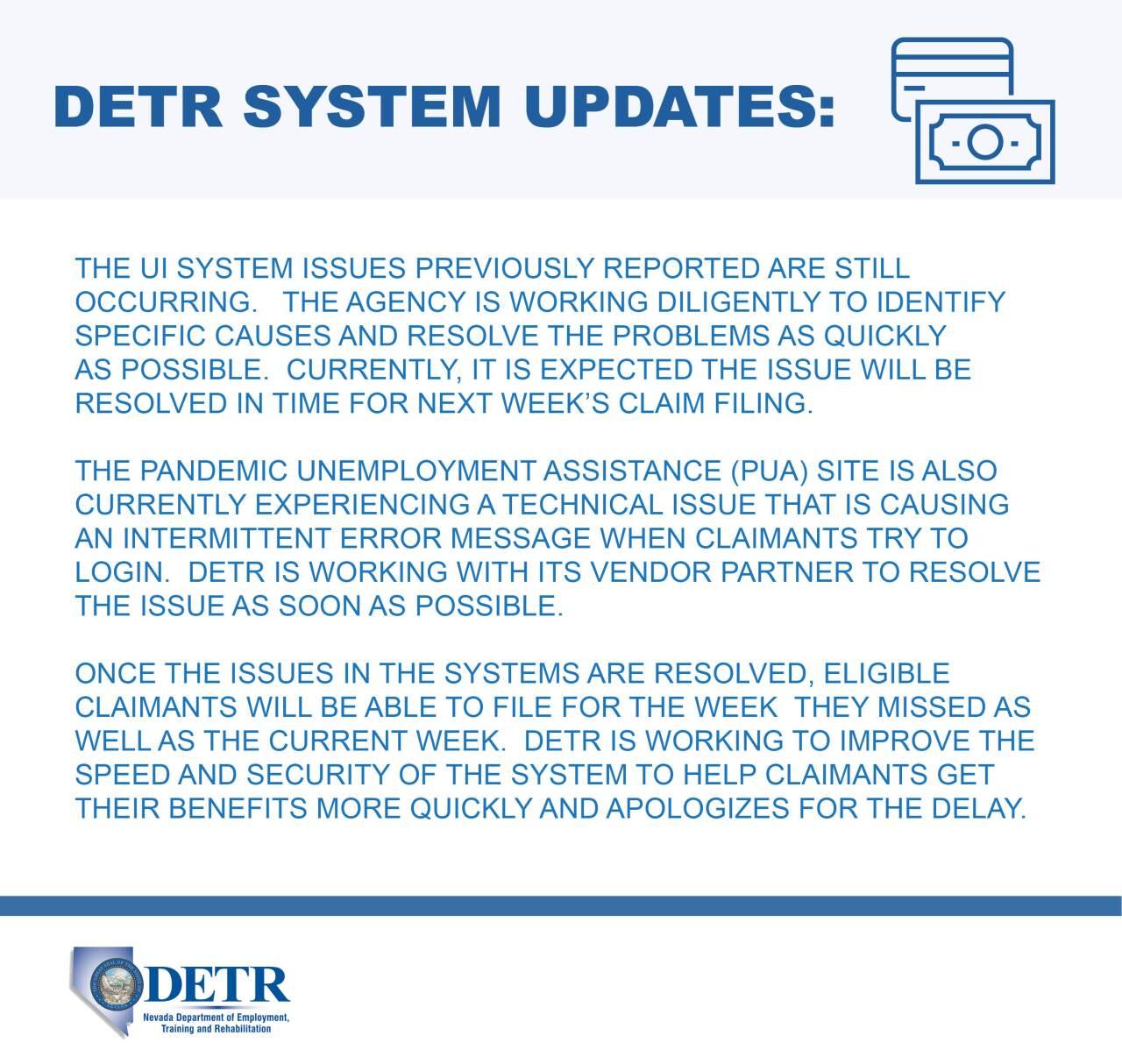 DETR Update