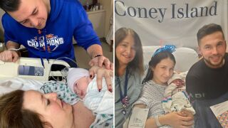 NYC's first two babies of 2020 born at midnight in Staten Island, Brooklyn