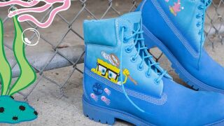 Timberland launches new SpongeBob-themed collection