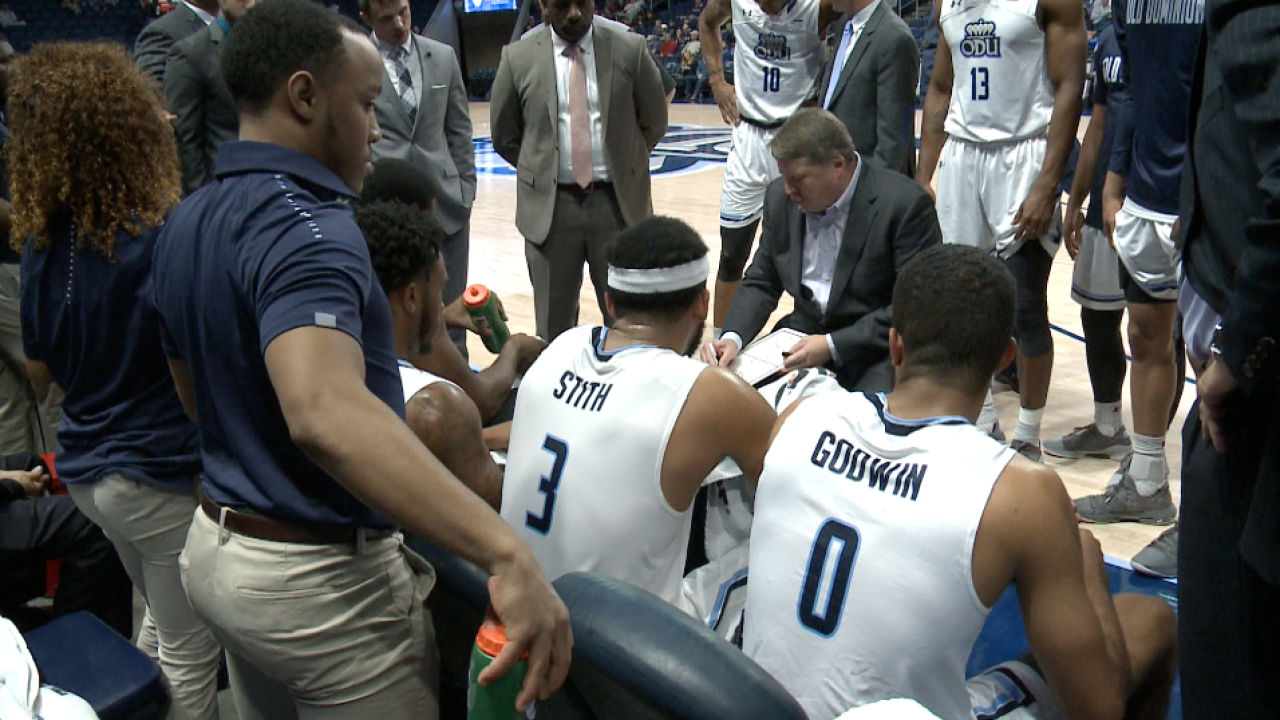 ODU men's hoops team has chance to make noise, be 'Herd' in ConferenceUSA