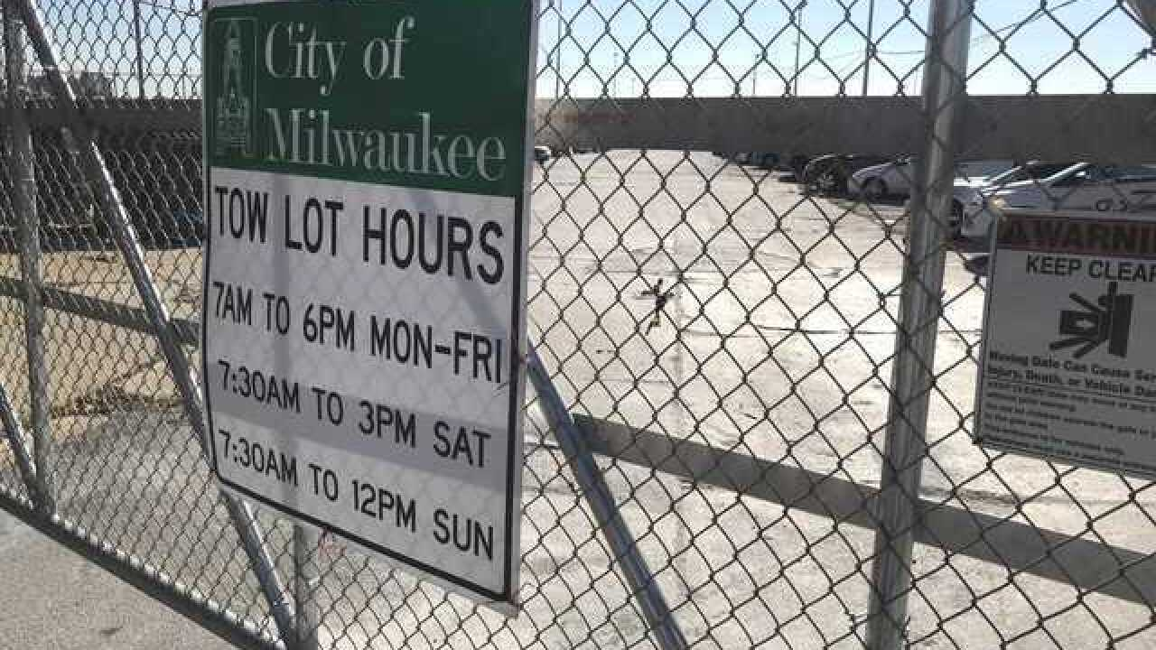 'Simply unacceptable': Milwaukee Police respond to 4-year-old left in tow lot