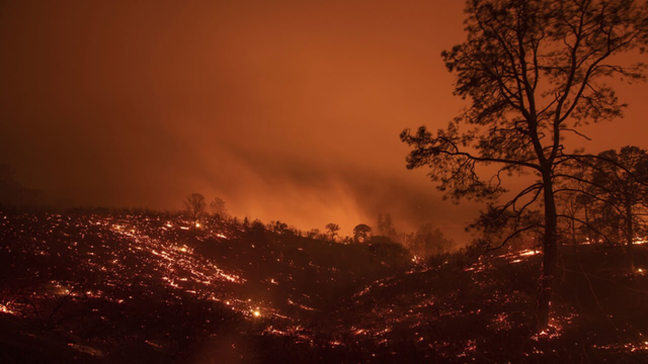 Mendocino Complex fires grow to largest wildfires in California history