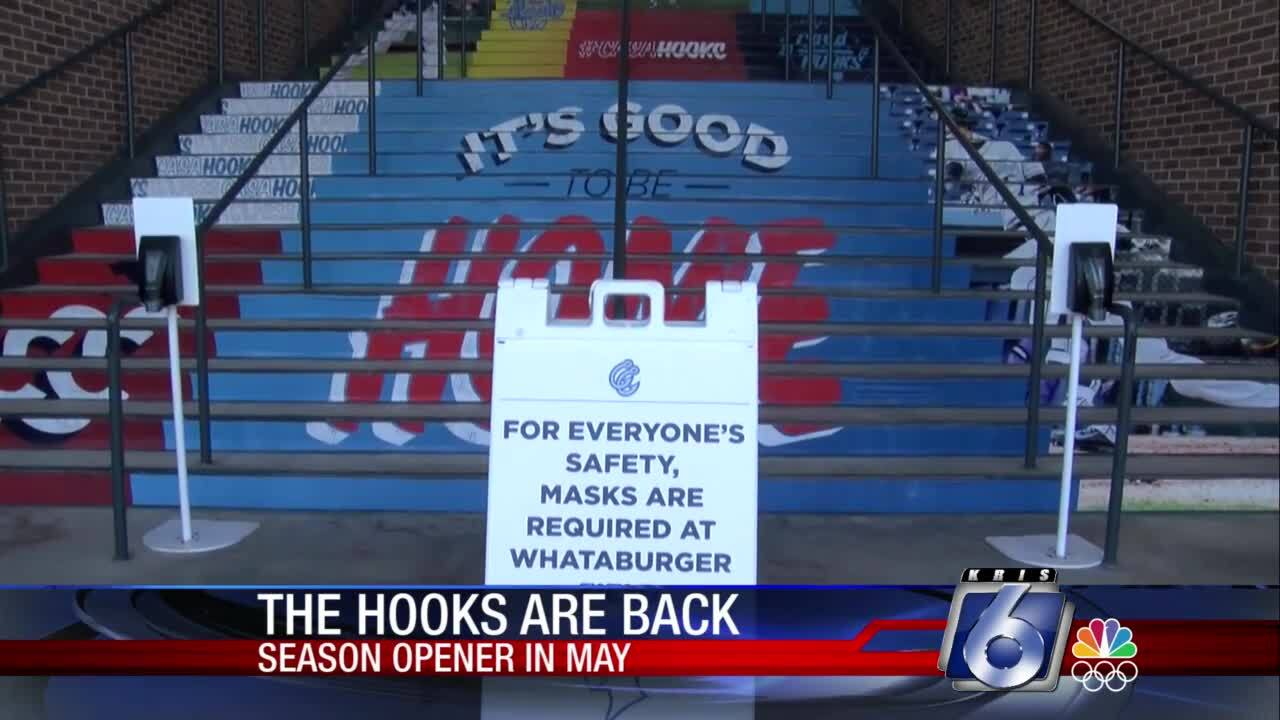 Mask orders have been dropped at Whataburger Field for Hooks games