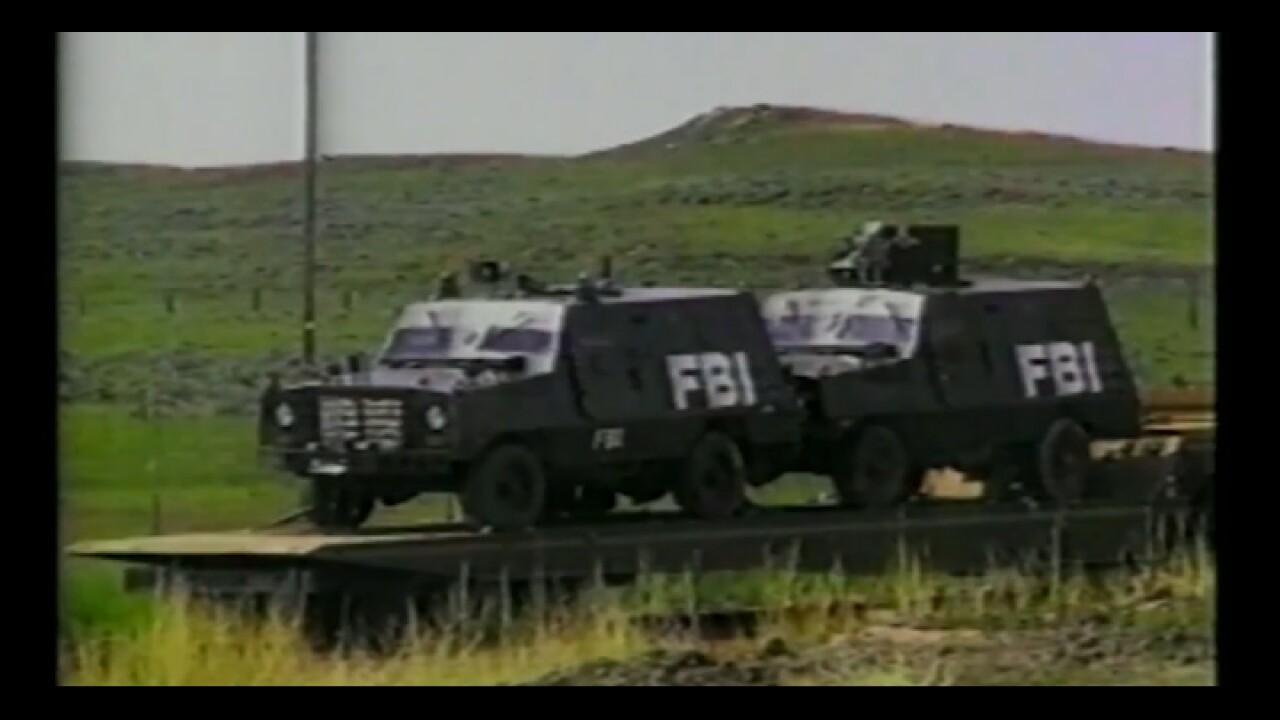 Freemen standoff- FBI armored vehicles in Garfield Co_.jpg