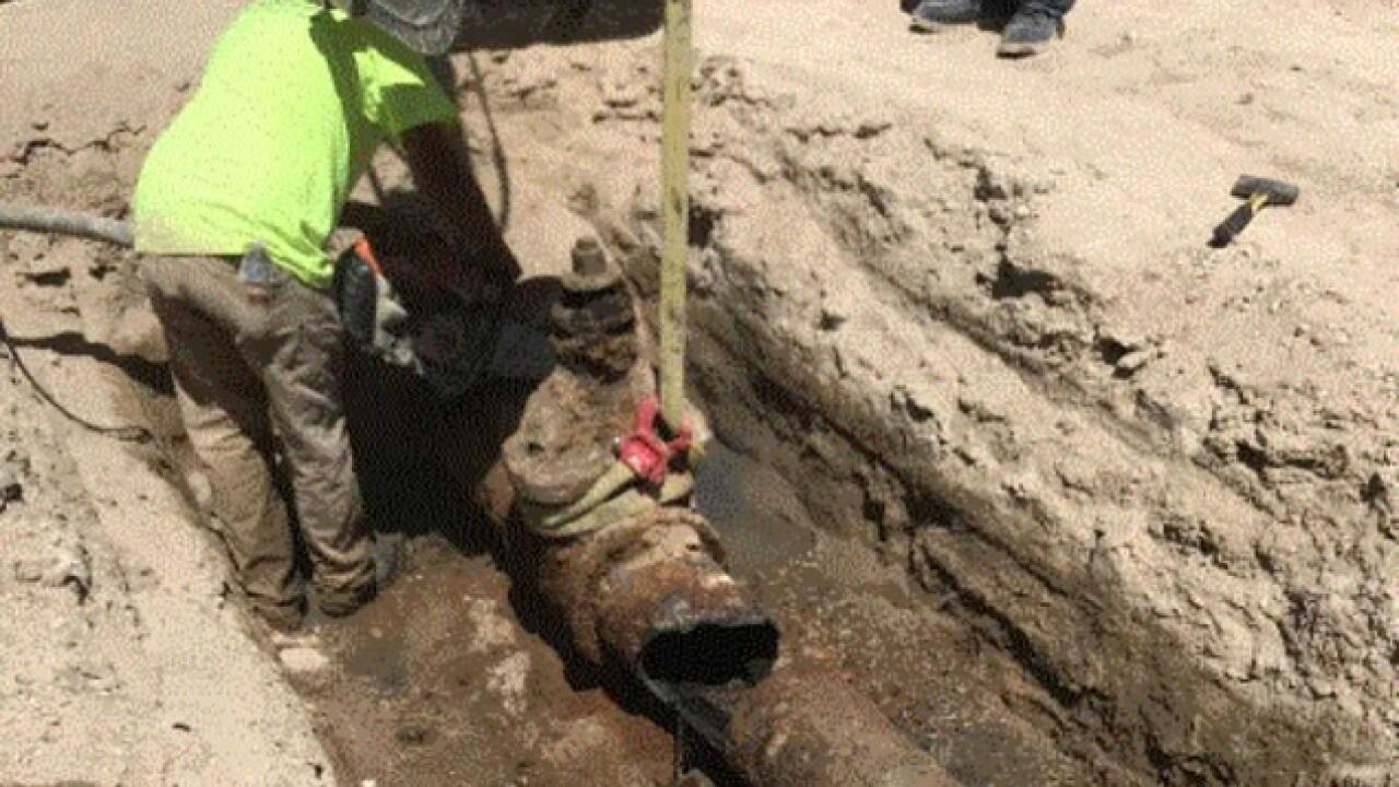 Deteriorated water main found in downtown Nampa