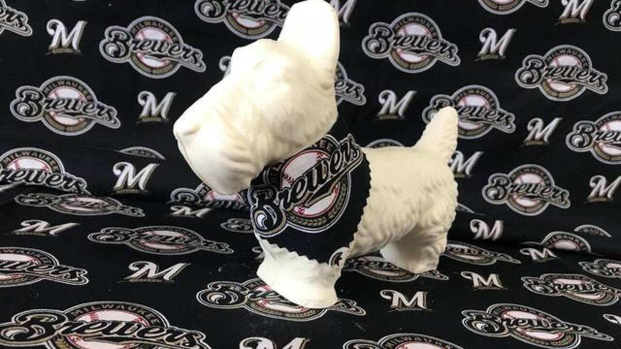 Wauwatosa shop unveils Chocolate Hank the Brewers Ballpark Pup