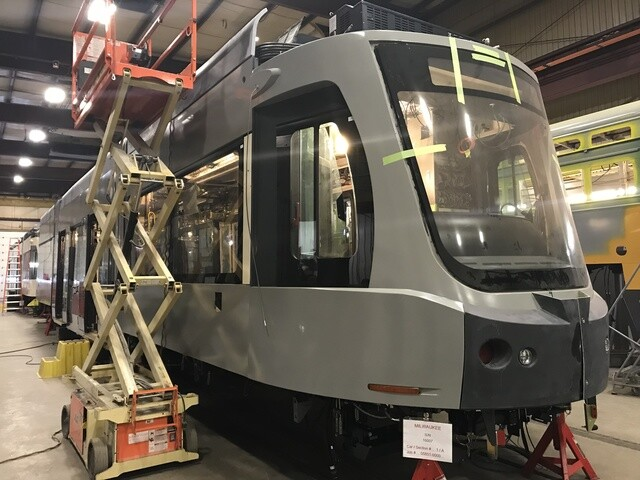 First look at the new Milwaukee streetcars [GALLERY]