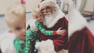 Brie and baby 3 vlog 2: Maverick and Santa