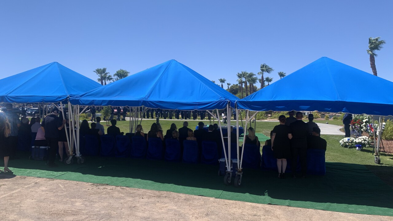 Hundreds of law enforcement officers pay respects to fallen NHP Trooper Micah May