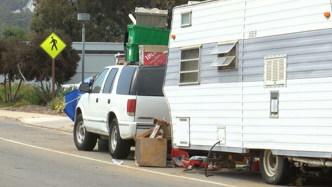 los osos homeless camping.JPG