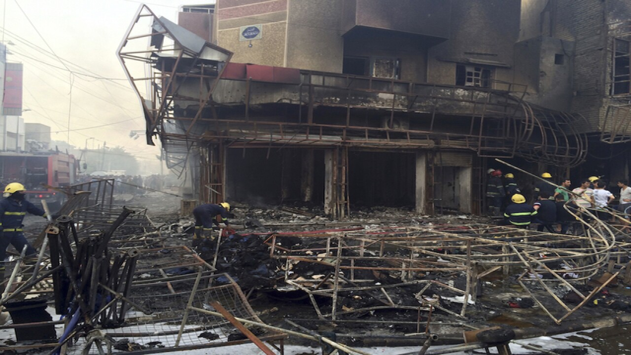 83 people killed in 2 bombings in Baghdad