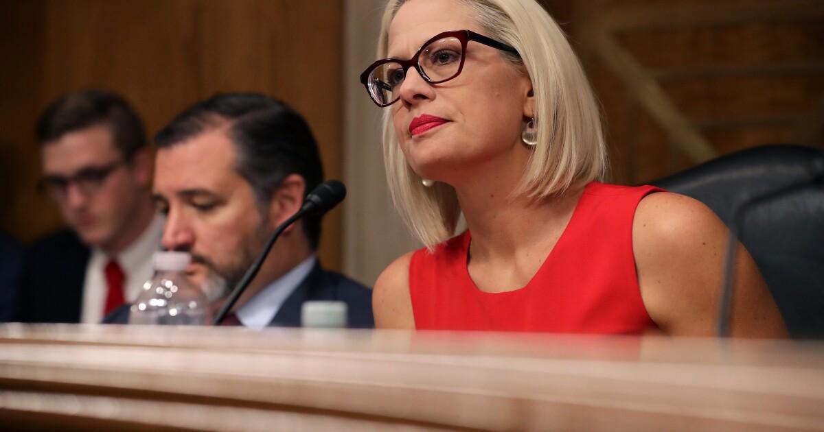 "Sen. Sinema ""concerned"" about Judge Barrett's inconsistent views on legal precedent"