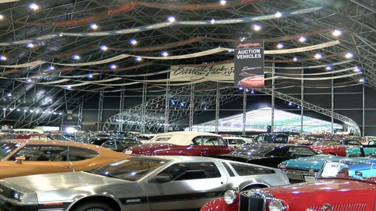 5 things to know about Barrett-Jackson Auction