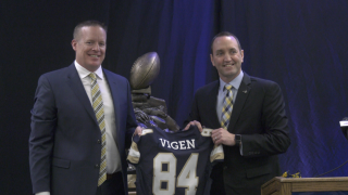Montana State officially introduces new head football coach Brent Vigen