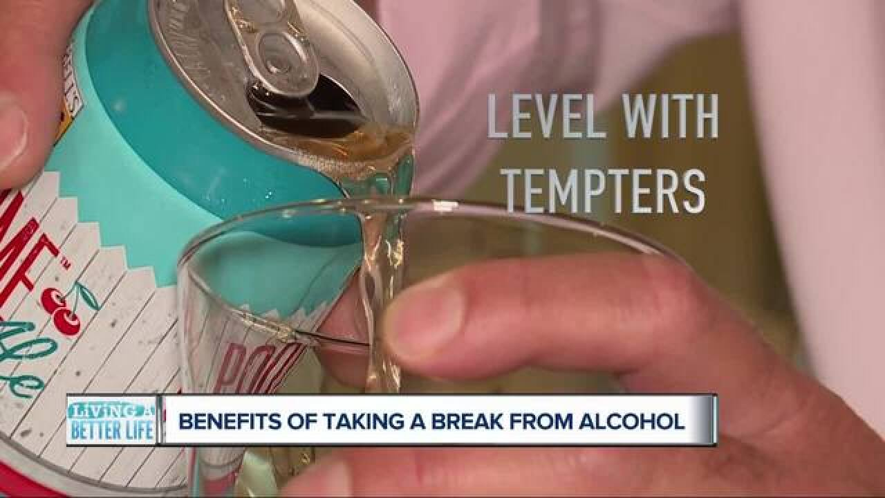 Four ways to help you take a break from alcohol