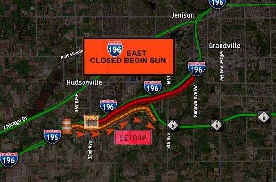 Map 196 EB closure Hudsonville 2020.JPG